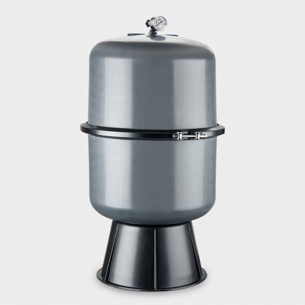 Geteilter Filterbehälter Premium 400 mm ohne 6-Wege-Ventil