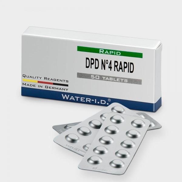Nachfüllpack DPD 4 Rapid für Pooltester / Flexitester