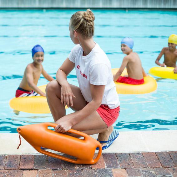 Sicherheitsvorschriften im Schwimmbad