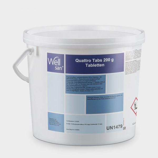 Chlor Multitabs Wellsan Quattro 5 kg 200 g
