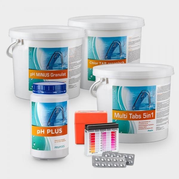 Pool-Wasserpflege-Set COMFORT für Becken über 20 m³