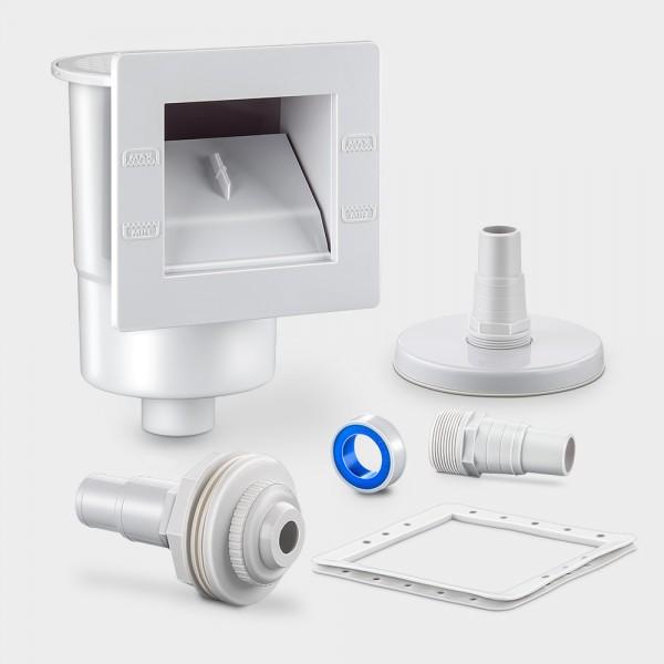 Set Skimmer PLUS + Einlaufdüse 32/38 mm