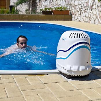 die einh nge gegenstromanlage sportliches schwimmen in jedem pool poolsana der pool sauna. Black Bedroom Furniture Sets. Home Design Ideas