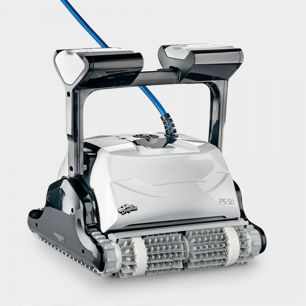 Poolroboter Dolphin PS50 mit Top-Access und 2 Antriebsmotoren