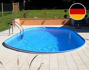 Ovalbecken stahlwandpool ovalpool im pool online shop for Rundpool 150 tief