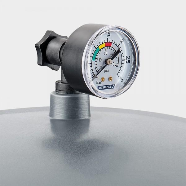 Entlüftungs-Set mit Manometer für Filteranlagen