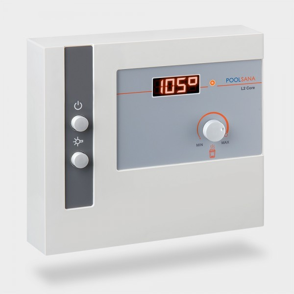 Saunasteuerung POOLSANA L2 Core mit digitaler Temperaturregelung
