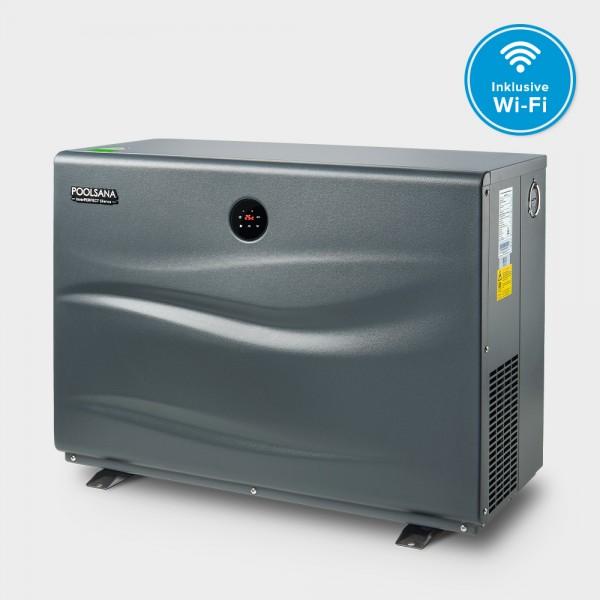Pool Full-Inverter-Wärmepumpe POOLSANA InverPERFECT Silence 9