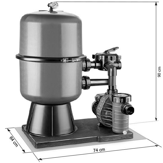 Abmessungen PREMIUM 400 / AquaPlus