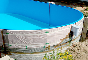 Gut bekannt Aufbau von Stahlwand-Pools in 9 Schritten | POOLSANA - Der Pool ZE16