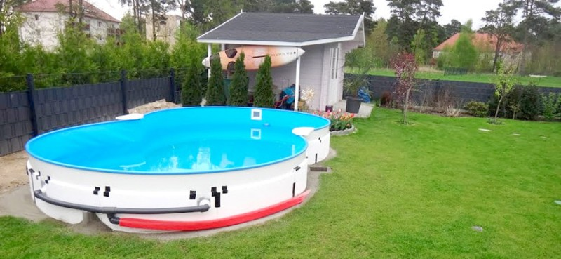 Pool zum einlassen pq04 hitoiro for Obi aufstellpool