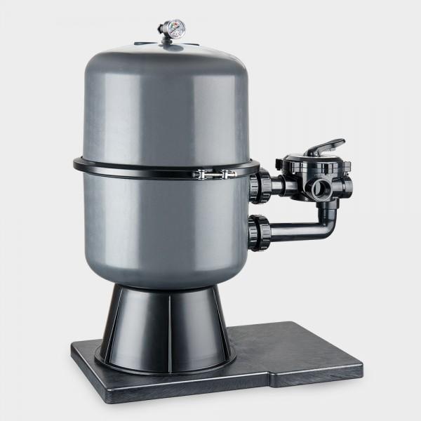 Geteilter Filterbehälter Premium 400 mm anthrazit