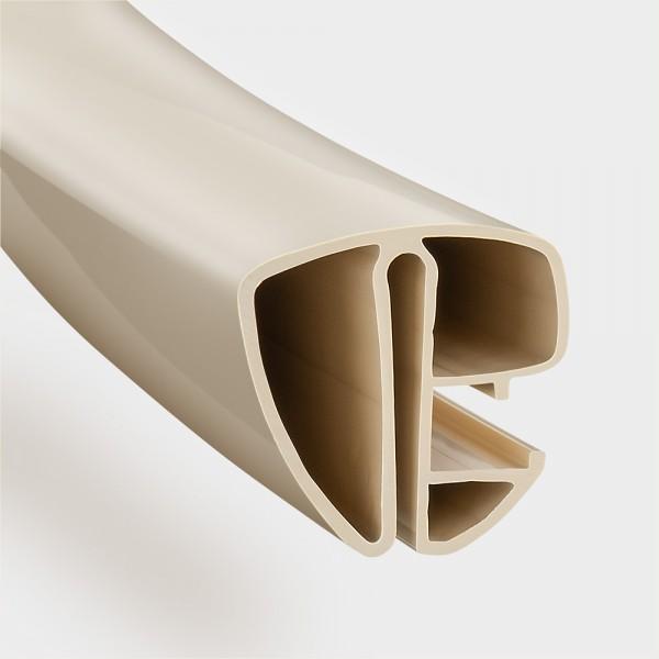 Kompletter Satz POOLSANA Kombi-Spezialhandlauf für Ovalbecken | Farbe: Sand
