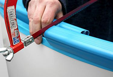 Pool-Handlauf richtig ersetzen und montieren   POOLSANA ...