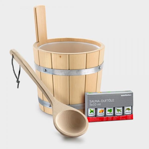Saunakübel-Set Solid