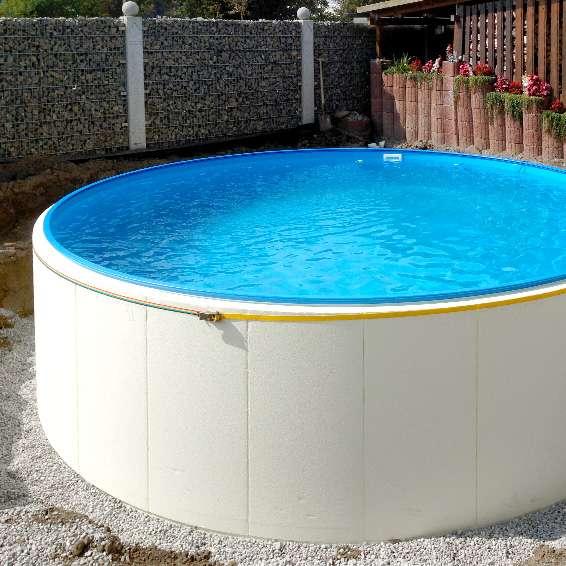 swimmingpool ohne betonarbeiten so bauen sie ihren pool. Black Bedroom Furniture Sets. Home Design Ideas