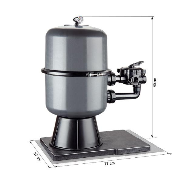 Abmessungen Filteranlage Premium 400