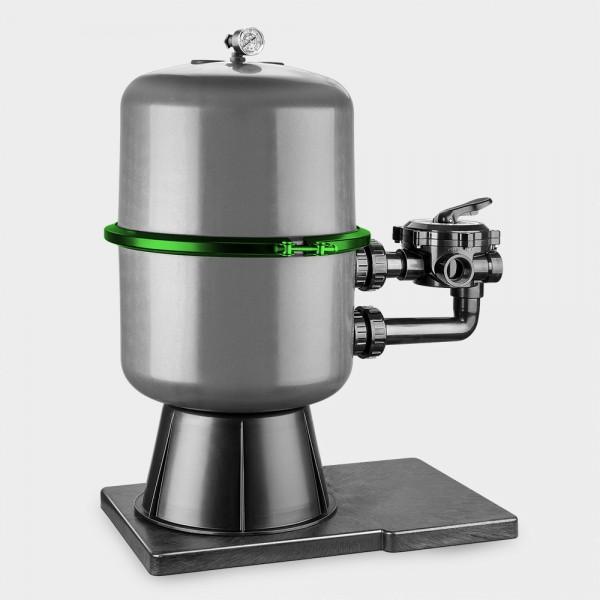 Spannring schwarz für Filteranlage PREMIUM /