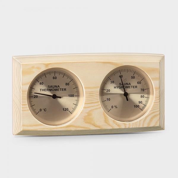 Sauna-Klimamesser im Holzgehäuse 271THBP