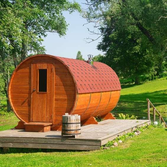 Fabulous Gartensauna - So bauen Sie sich Ihre Sauna-Kabine für den HH84