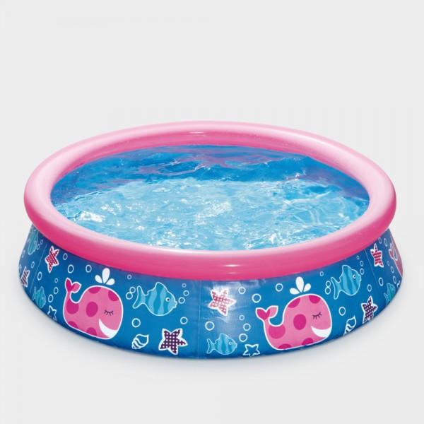 Quick-Up-Pool PRONTO Design 152 x 38 cm pink