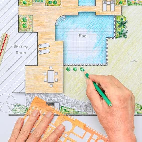 design ratgeber ideen und tipps f r die garten gestaltung rund um ihren pool poolsana der. Black Bedroom Furniture Sets. Home Design Ideas
