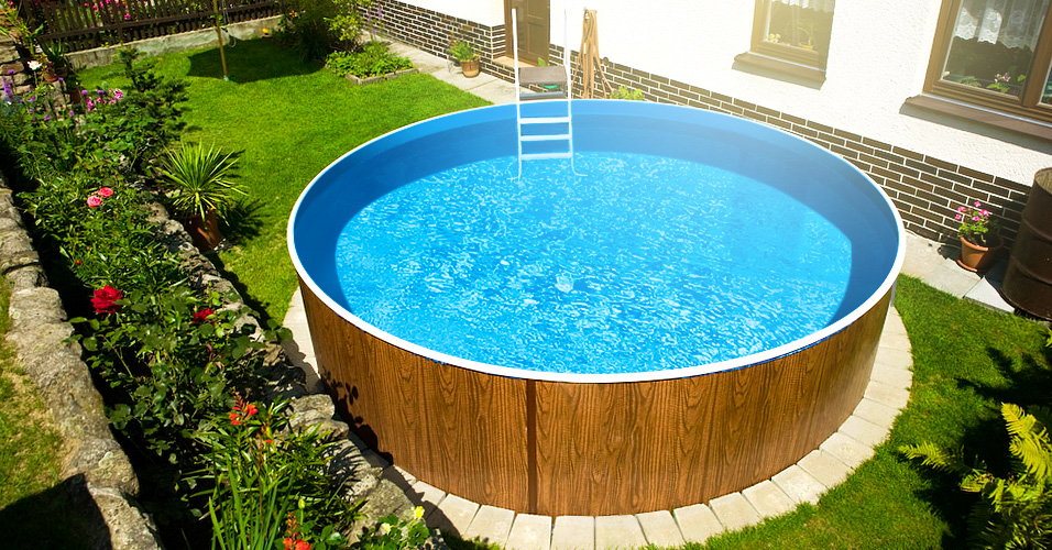 Rundpool poolsana wood 3 60 x 0 90 m folie 0 4 mm pure for Folie pool rund