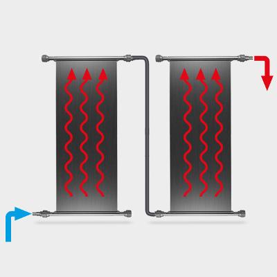Alternativer Anschluss POOLSANA Solarabsorber