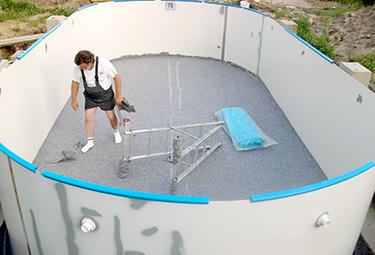 Sehr Aufbau von Stahlwand-Pools in 9 Schritten | POOLSANA - Der Pool CR48