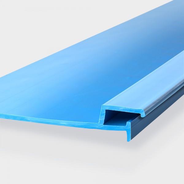 Einhängeprofile aus Kunststoff für Massivbecken