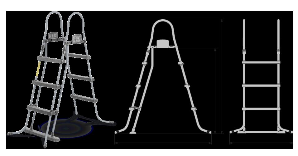 rundpool poolsana plain 3 60 x 0 90 m folie 0 4 mm pure protect set freiaufstellung rundpool. Black Bedroom Furniture Sets. Home Design Ideas