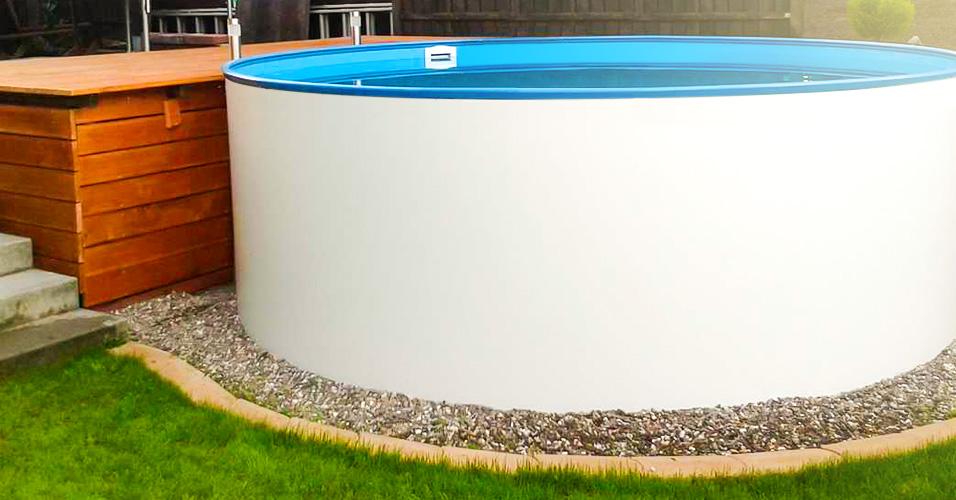 Stahlwand rundpool top fabelhafte swimming pool selbst for Styropor pool rund