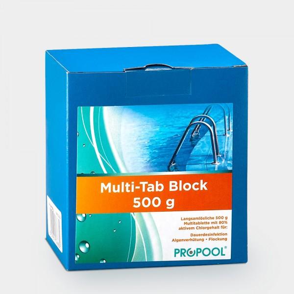 PROPOOL Multi Tab Block 500 g