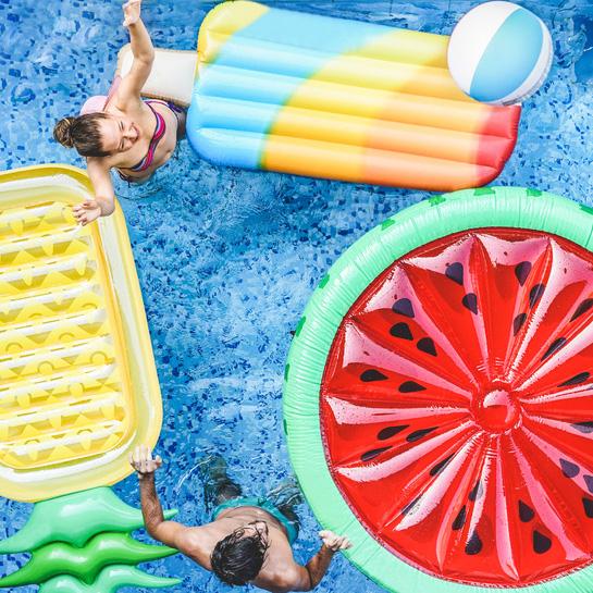 Ideen und Tipps fuer Poolpartys