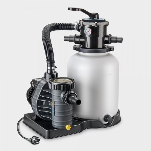 Sandfilteranlage Pro 300/AquaPlus 4 POOLSANA-Edition anthrazit