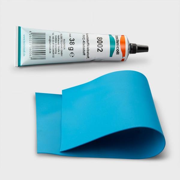 Folien-Reparaturset mit blauer Folie