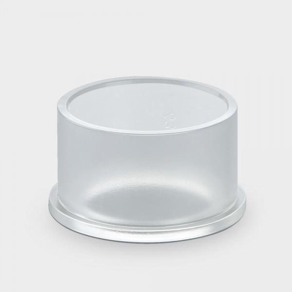 Klarsicht-Klebemuffe 63 mm für UV-Entkeimungsgerät