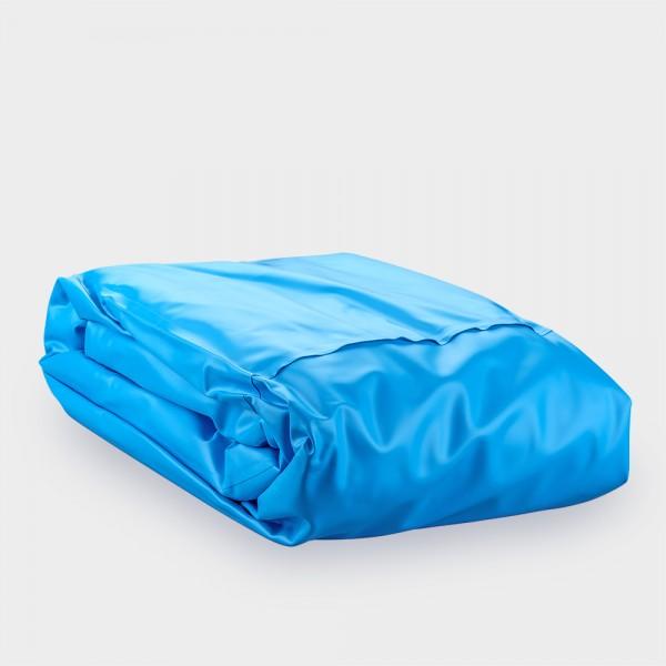 Poolfolie 0,6 mm für Rundpools, blau