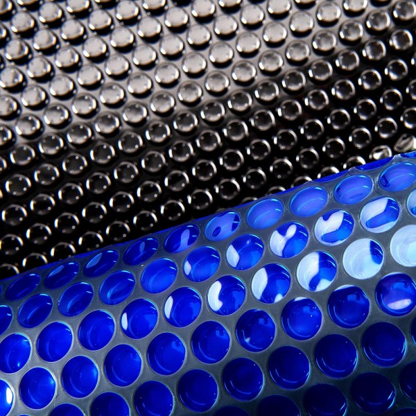Pool Solarfolie PROFI 400 my blau/schwarz Ø 4,60 m
