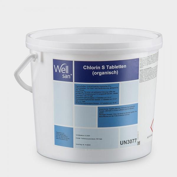 Chlortabletten Wellsan Chlorin S Tab 5 kg