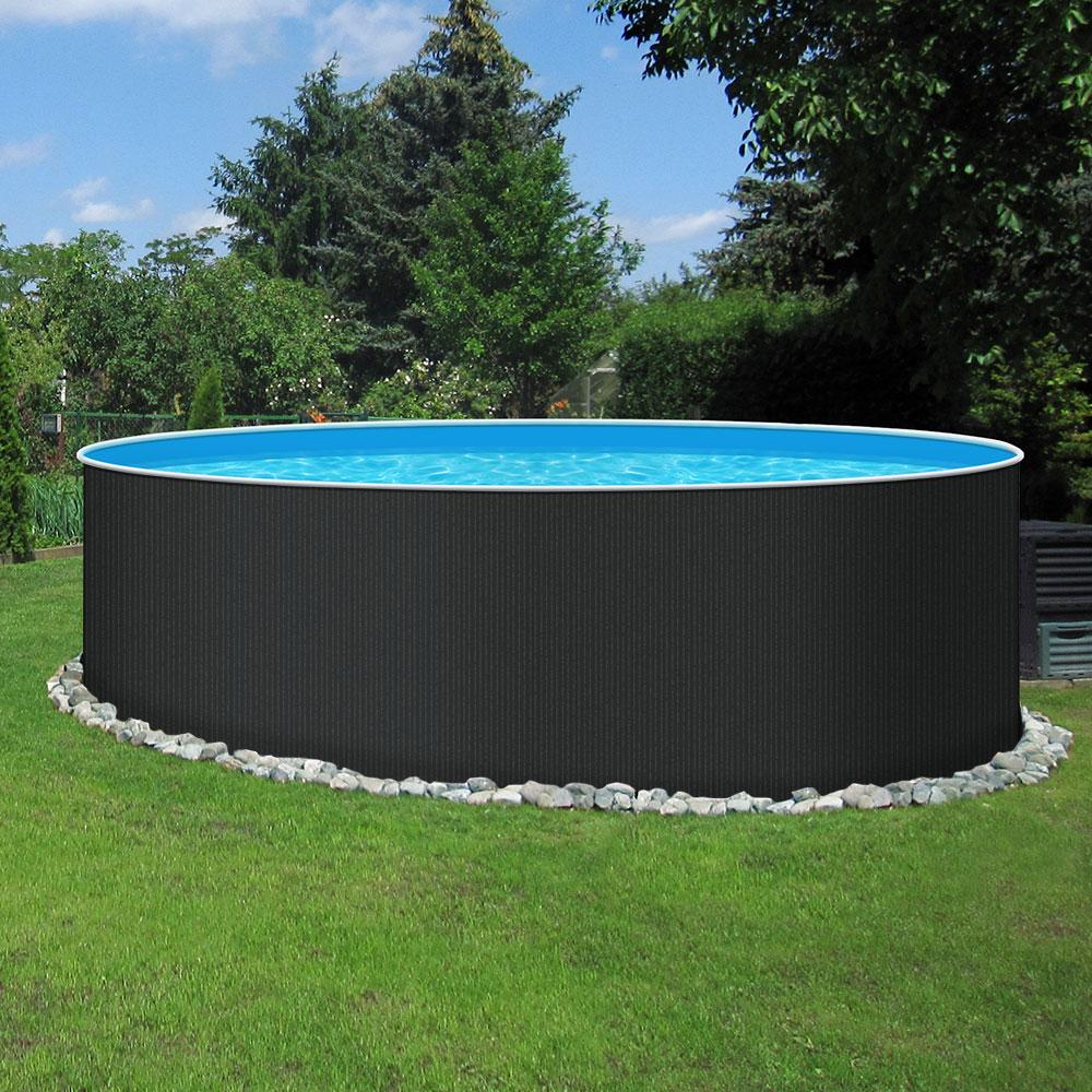 Stahl Pool Rund