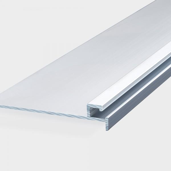 Einhängeprofile aus Aluminium für Massivbecken