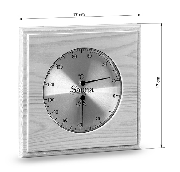 Abmessungen Sauna-Klimamesser 281