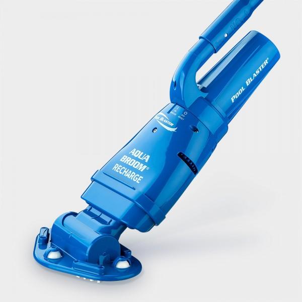 Akkubetriebener Poolsauger Pool Blaster Aqua Broom Recharge inkl. Stange