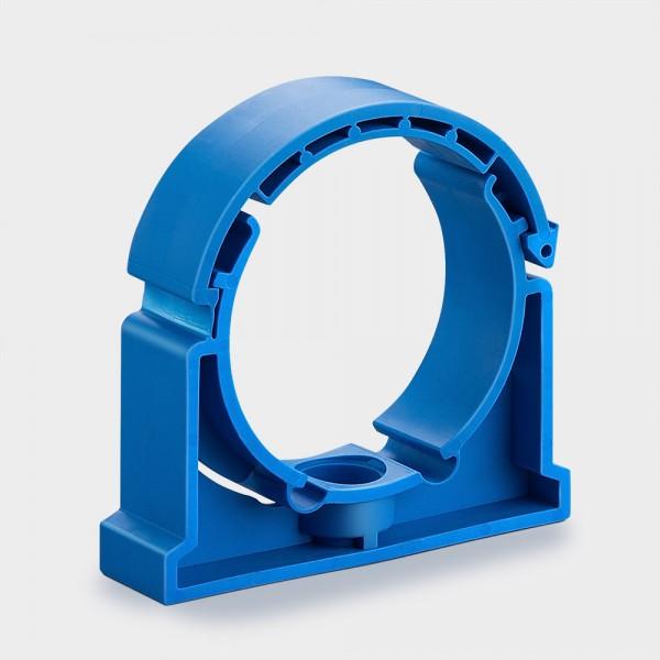 Wandhalter/Rohrclip blau für UV-Entkeimungsgerät
