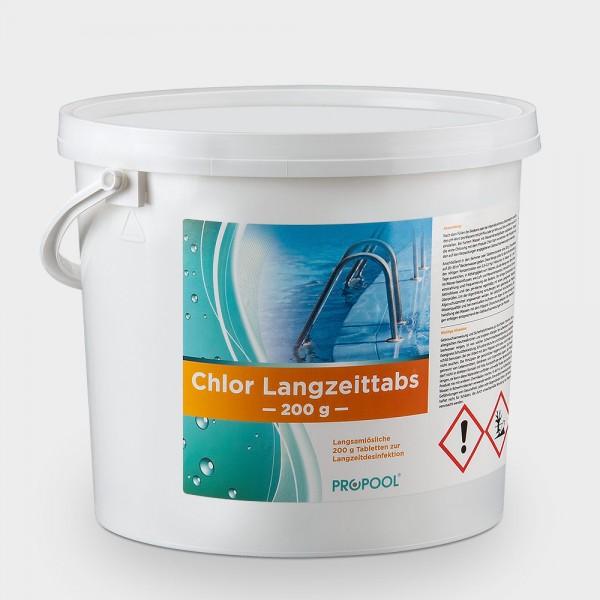 PROPOOL Chlor-Langzeittabs 200g 5 kg