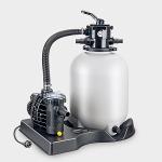 Sandfilteranlage mit leistungsstarken SPECK-Pumpe