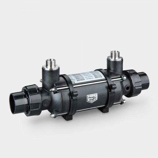 Pool-Wärmetauscher Kunststoff/Titan 46 kW