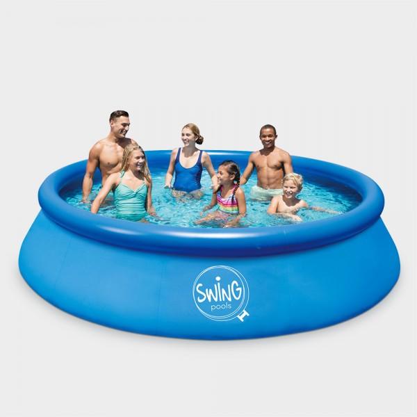 2. Wahl: Quick-Up-Pool PRONTO 457 x 122 cm