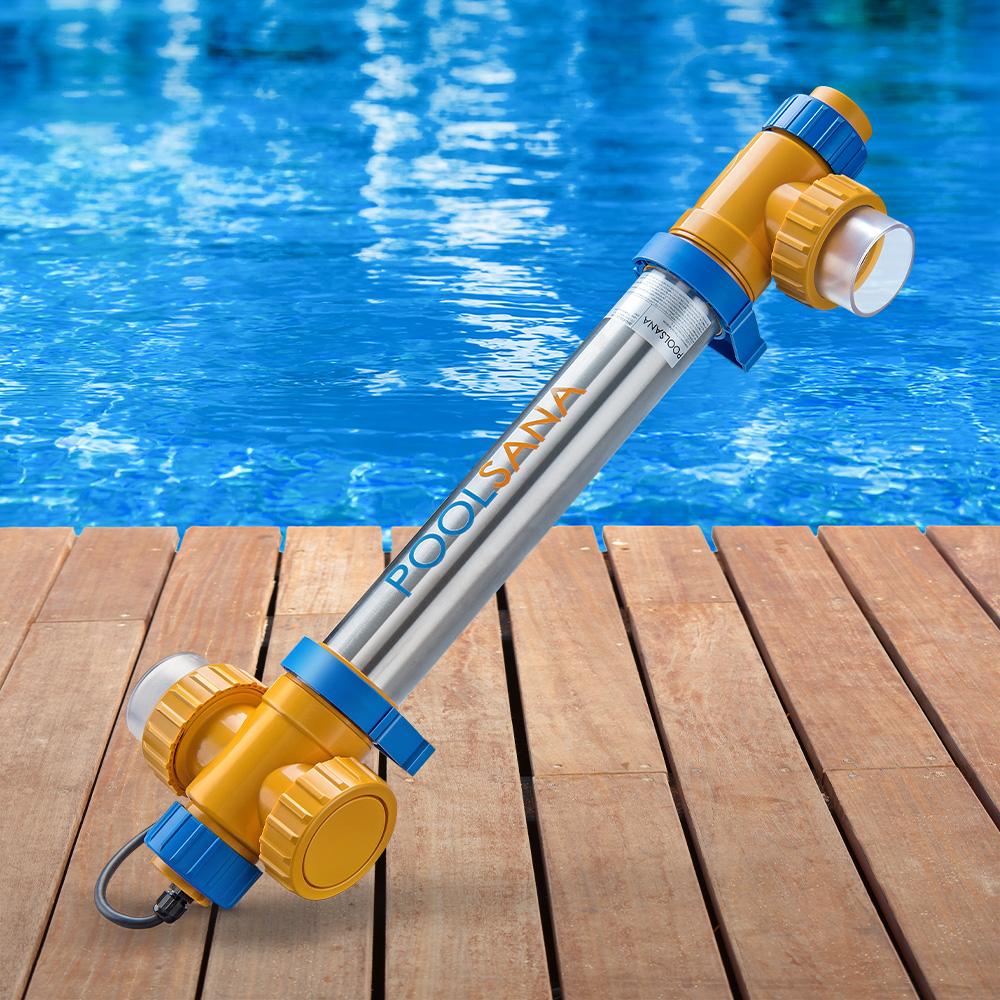uv-c lampen für poolreinigung